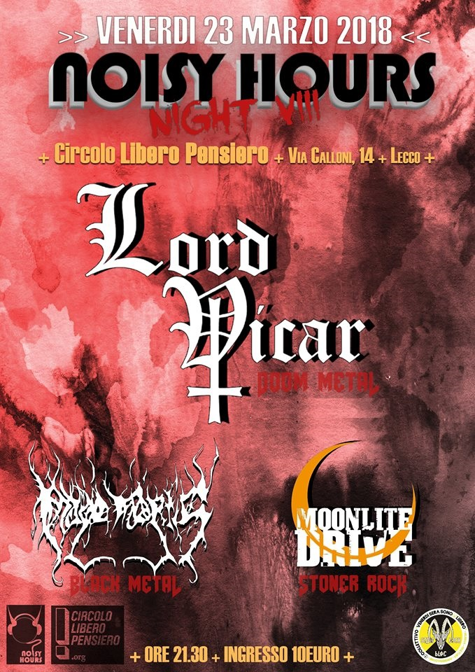 20180323 noisy hours night VIII lord vicar imago mortis moonlite drive