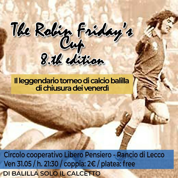 20190531 the robin friday's cup 8th edition
